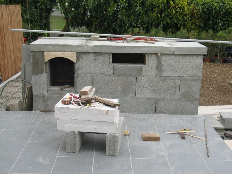 Construire son barbecue archives du blog se le faire - Construire un barbecue en pierre ...