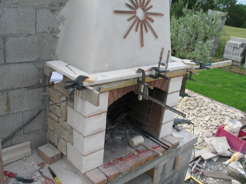 Construire son barbecue » Archives du Blog » Habillage des jambages ...